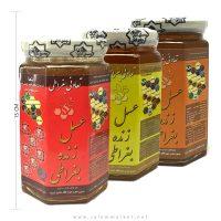 عسل زنده بغراطی مورد تایید دکتر روازاده، عسل 3 ستاره، عسل 5 ستاره، عسل 7 ستاره، احیای سلامت